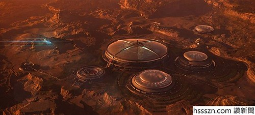 Red Sands Martian colony by Christian Hecker_680_307