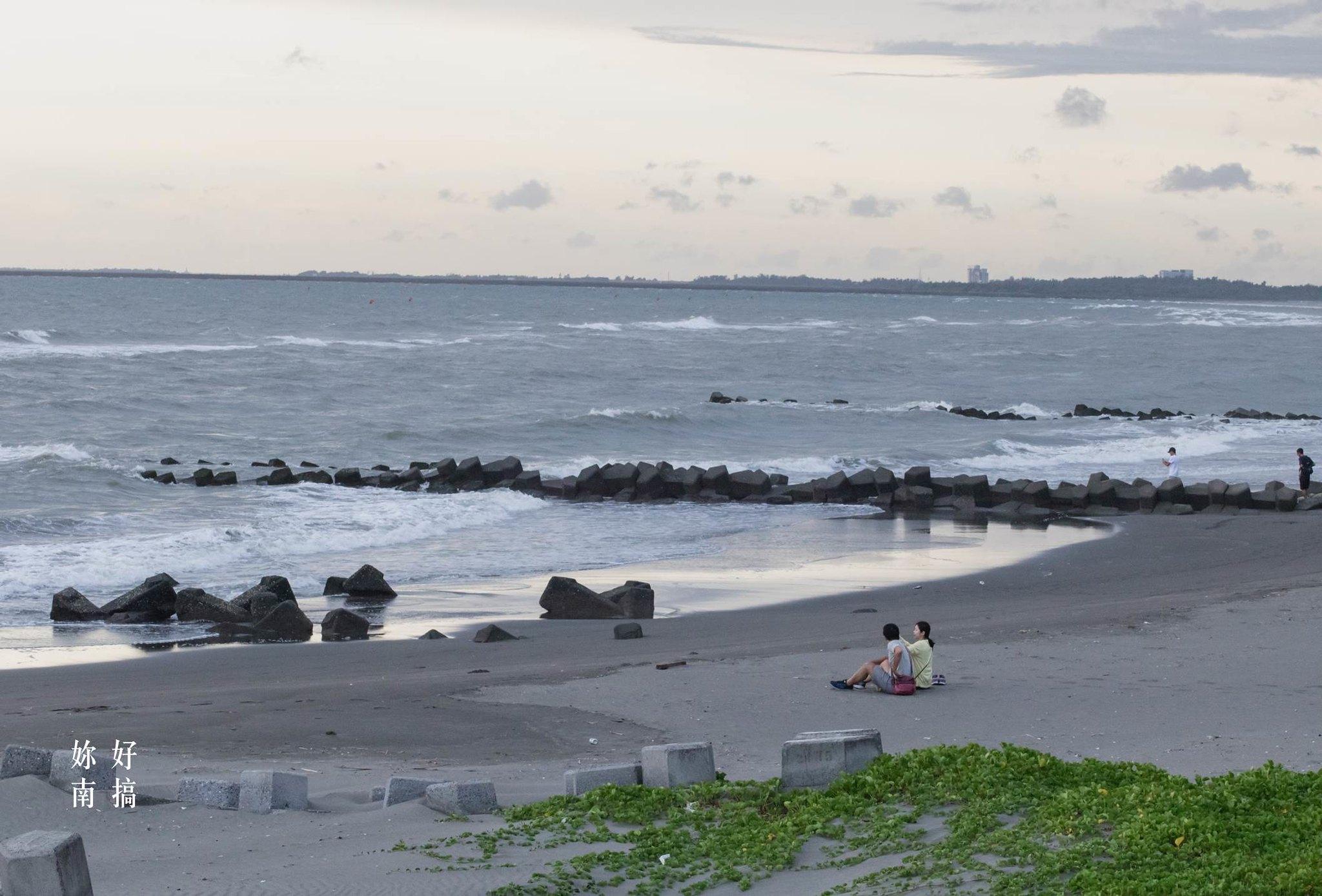 台南看海-黃金海岸