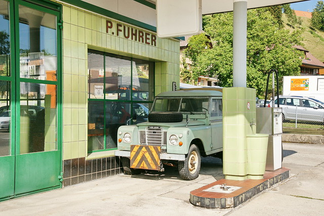 Land-Rover + Garage in Langnau im Emmental 29.8.2017 2582