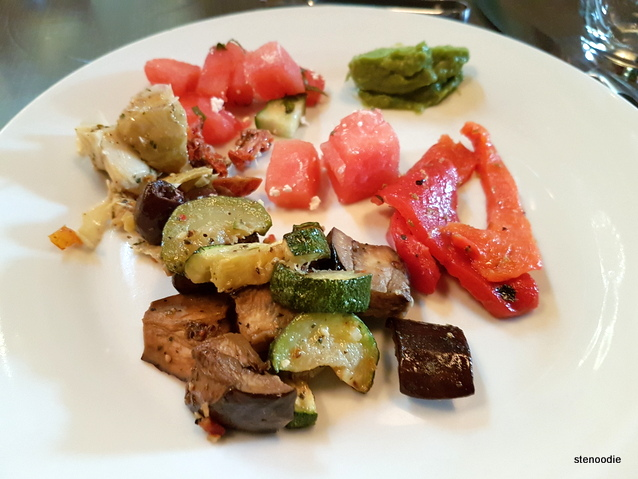 vegetables from Appetizer Island