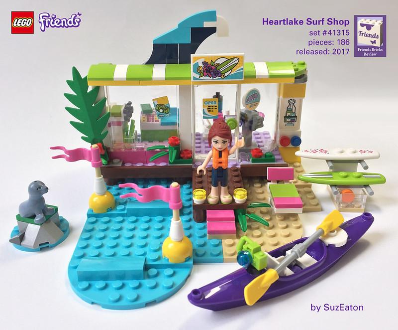 Heartlake Times: Review: 41315 Heartlake Surf Shop