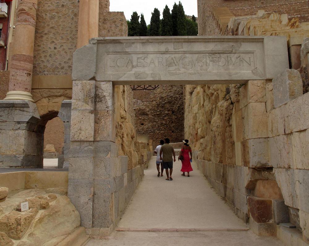 museo teatro cartagena_patrimonio_rafael moneo_intervención_premio europa nostra_puenta entrada lucio cesar