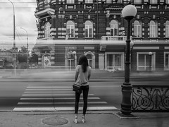 On the streets of Tomsk