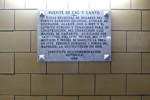 Metro Cal y Canto - Santiago, Chile