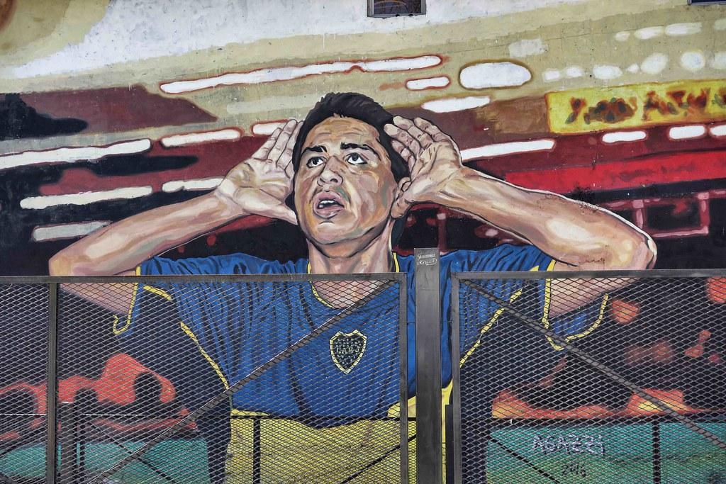 Buenos Aires - La Boca - Maradona Street Art 2