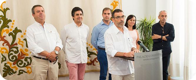 López no rompe el pacto de gobierno