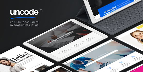 Uncode v1.6.1 – Creative Multiuse WordPress Theme