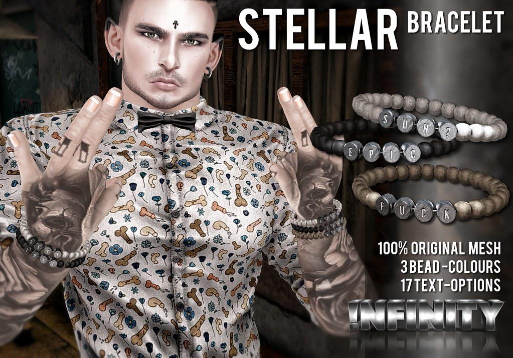 !NFINITY Stellar Bracelet @ Hipster Men's Event - SecondLifeHub.com