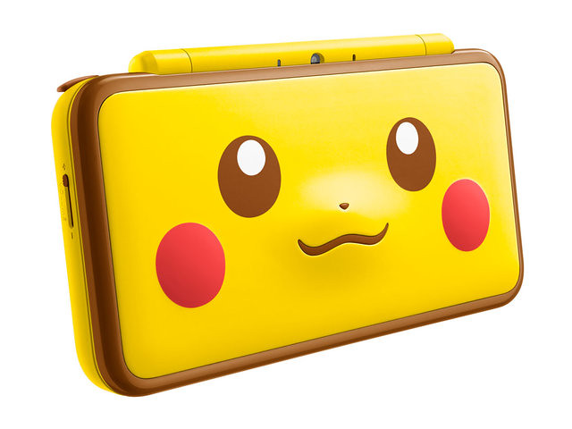 讓訓練家瘋狂的新造型!New Nintendo 2DSLL《精靈寶可夢》「精靈球」、「皮卡丘」特仕機 11 月 17 日登場!