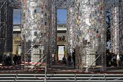Documenta, die ersten Bücher sind verteilt