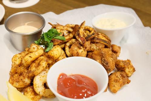 Mixed Cajun fry