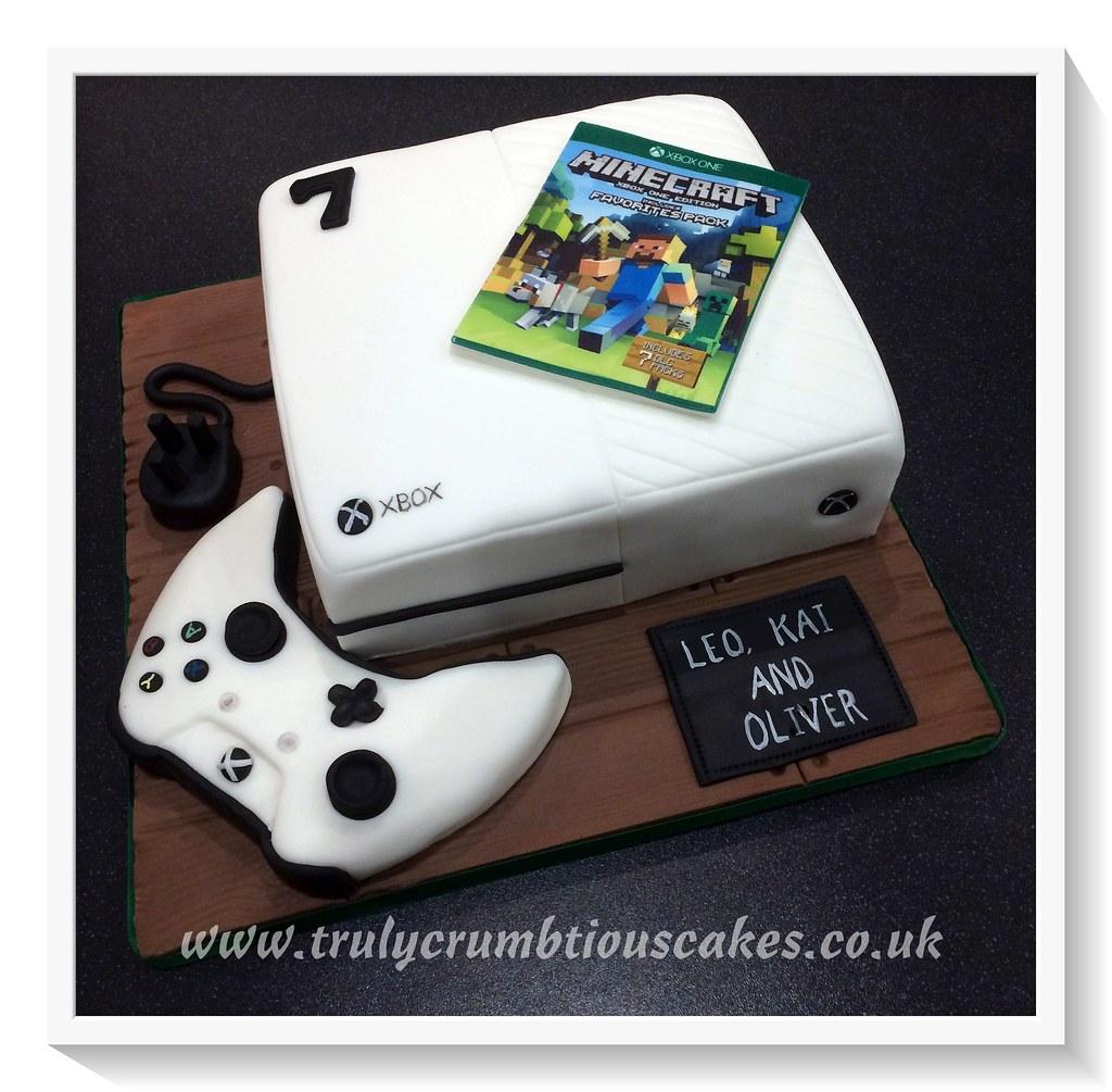 Xbox One Cake Debbie Scott Flickr