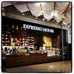Prickar av ännu en #EspressoHouse i Kista galleria. :)