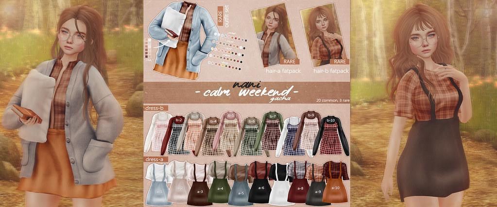 Calm Weekend x The Arcade - SecondLifeHub.com