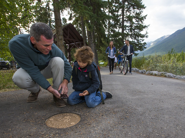Banff Commonwealth Walkway Grand Opening Sept 17/17