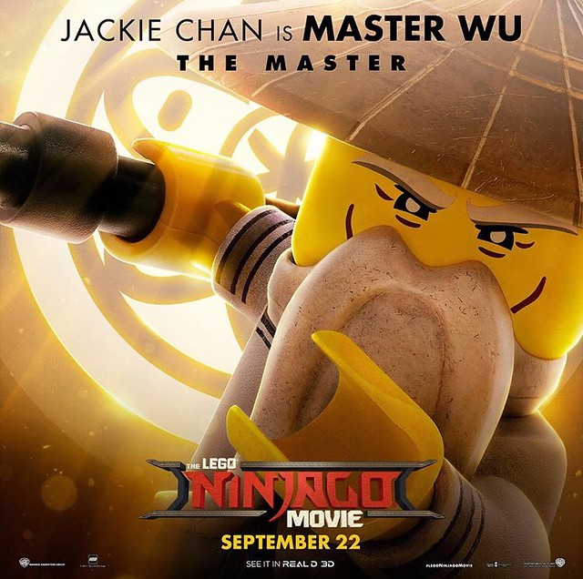 Plakaty postaci z The LEGO Ninjago Movie 7