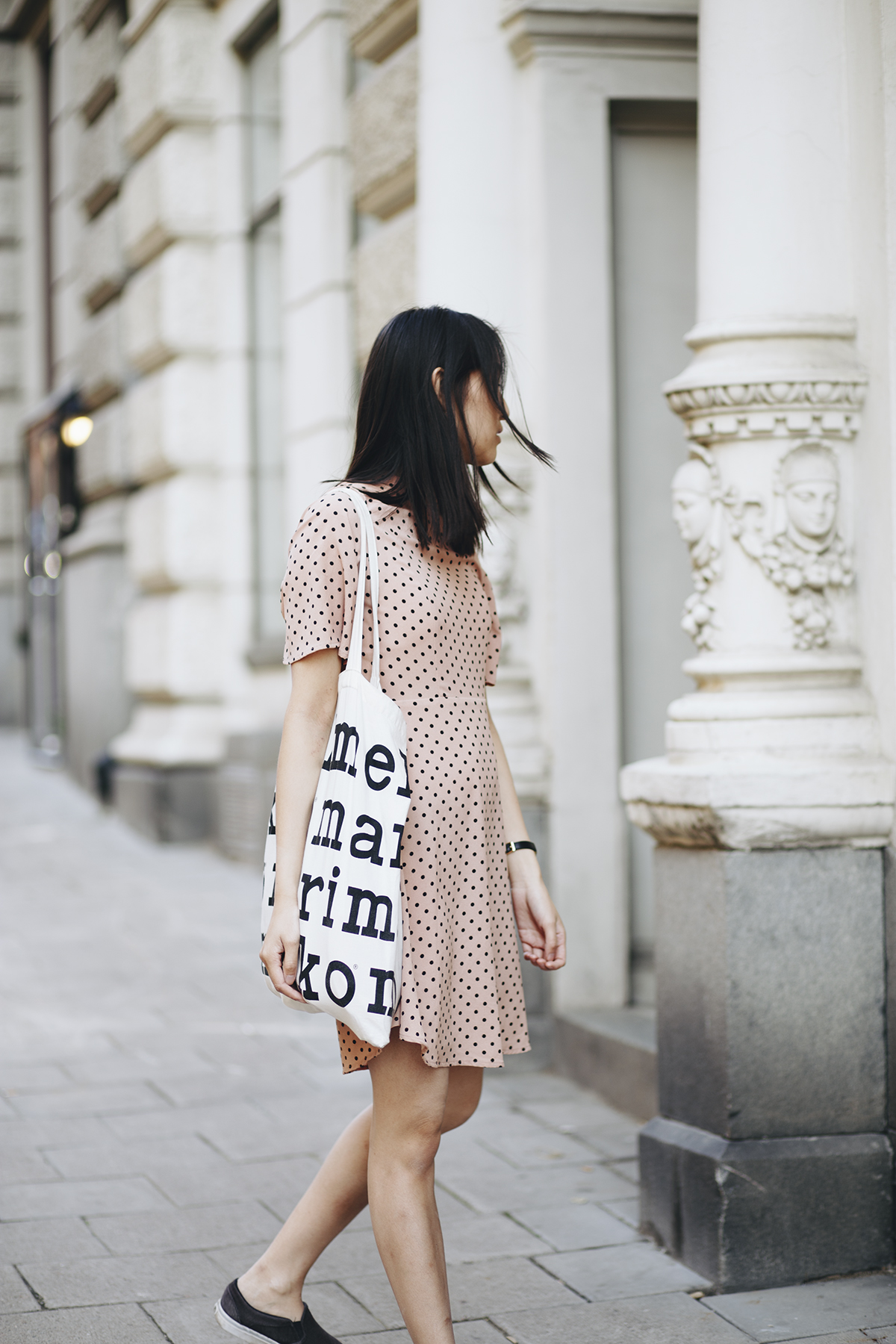 Stockholm polka dot dress
