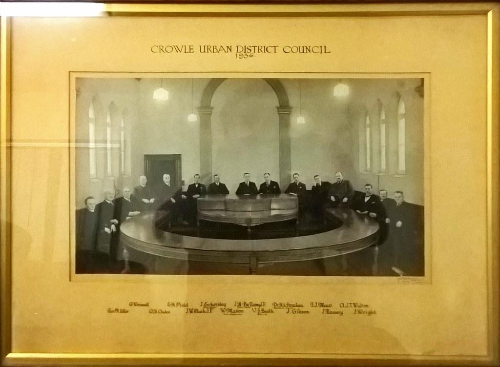 Crowle Urban District Council 1936
