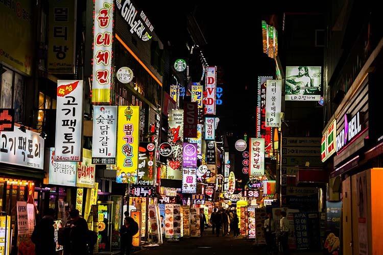 Hongdae Korea