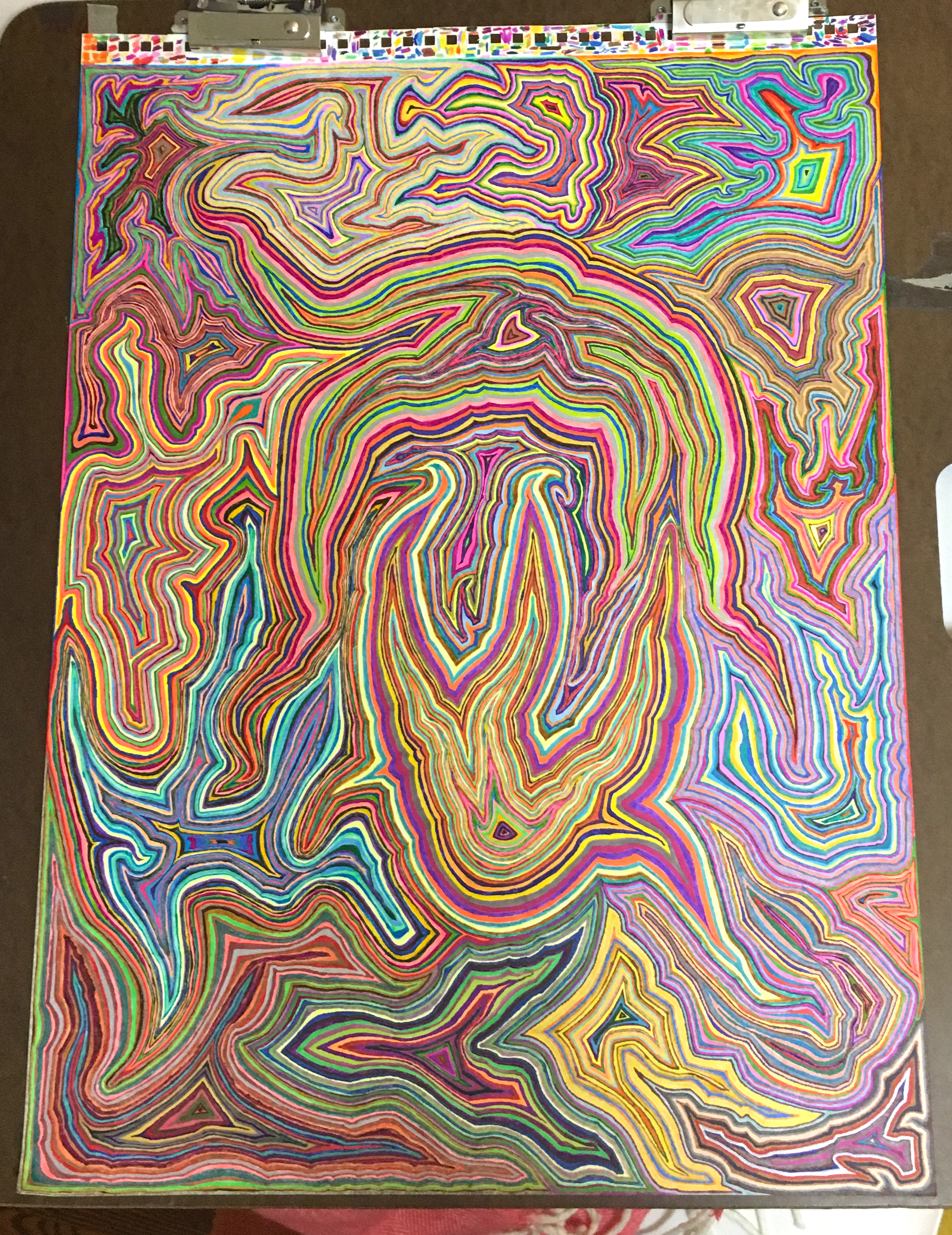 Psychedelic Abstract Art 3