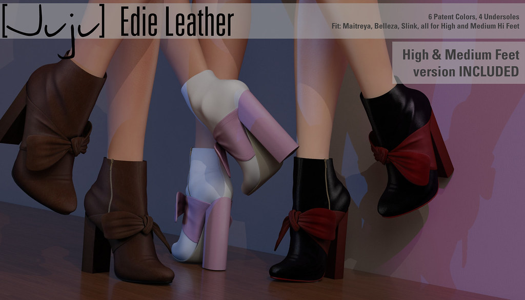[Juju] Edie (leather) for Shoetopia - TeleportHub.com Live!