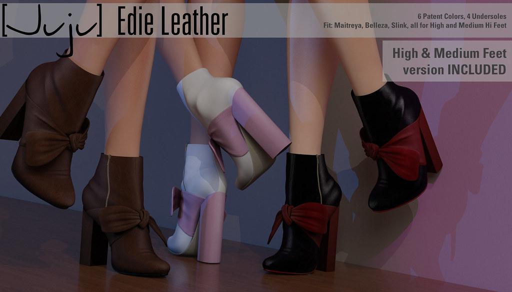 [Juju] Edie (leather) for Shoetopia