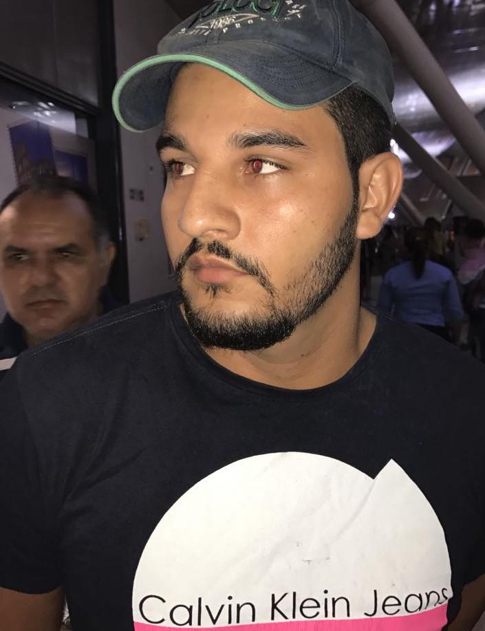Preso o pistoleiro acusado de matar prefeito de Tucuruí e empresário em Itaituba, Bruno, preso hoje em Belém