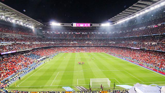 Bernabeu Stadium, Madrid, Spain