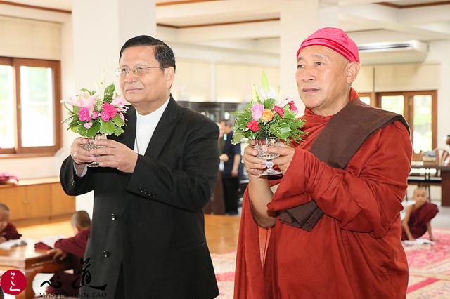 20170926緬甸行程-樞機主教到緬禪中心