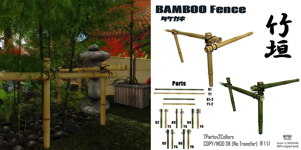 BAMBOO FENCSES - TeleportHub.com Live!