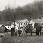 1946 Waldschmiede mit Besitzer&Arb
