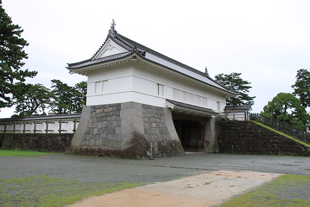 "Odawara Castle Akaganemon (means ""Bronze Gate"")"