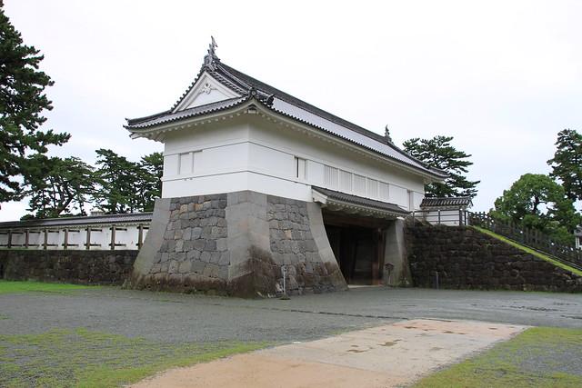 "Odawara Castle Akaganemon (means ""Bronze Gate"")"