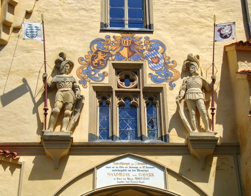 Hohenschwangau Castle. Credit Sailko
