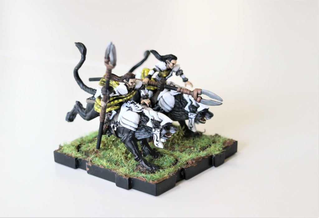 Runewars Miniatures Elf Leonx Right