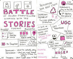 Battle of the Micro-Storytelling Platforms