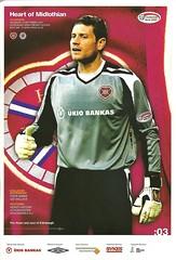 Heart of Midlothian v Rangers 20070915