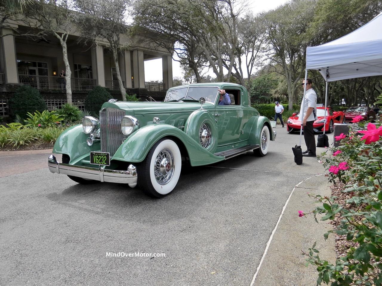 1934 Packard Front