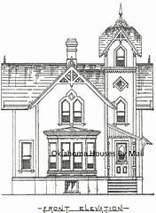 Palliser American Cottages No 24 front Elevation