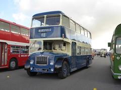 Preserved Midland General 313 YNU 351G, Donington Park, Castle Donington
