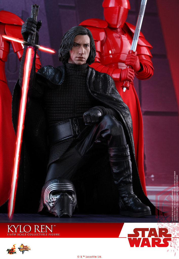 Hot Toys - MMS438 - 《星際大戰:最後的絕地武士》1/6 比例 凱羅·忍 Star Wars: The Last Jedi Kylo Ren