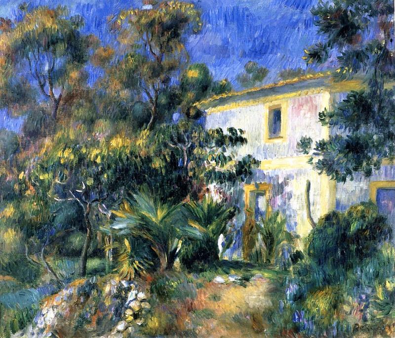 Algerian Landscape by Pierre Auguste Renoir