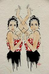 Street art dll Don mateo
