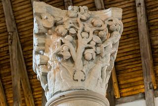 Säulenkapitell Abbaye de Cluny