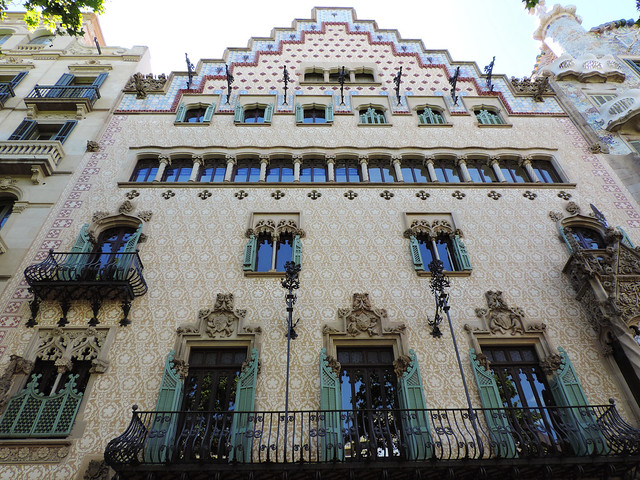 Architecture Guide To Barcelona: Casa Amatller, Barcelona, Spain