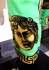 Dialoghi Dissing / Gianni Versace - Magna Grecia Tribute exhibition up to September 20, 2017 at Archaeological Museum of Naples