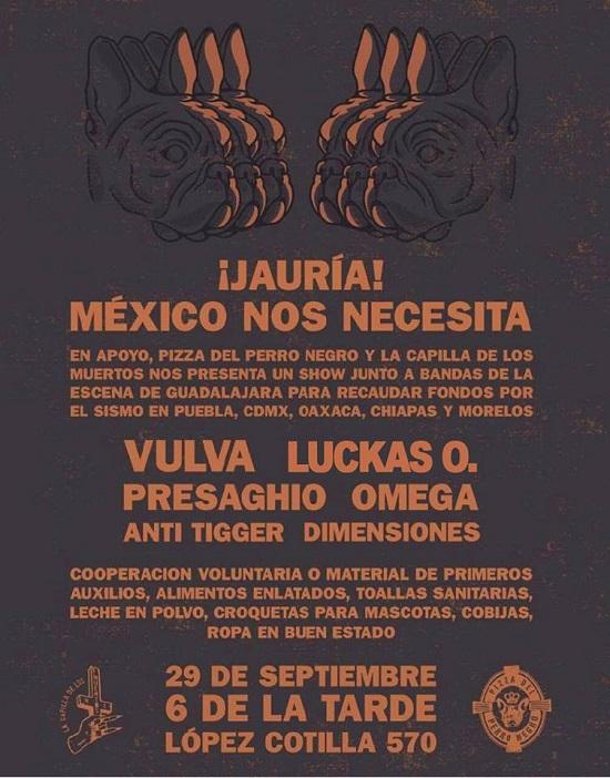 2017.09.29 ¡JAURÍA! MÉXICO NOS NECESITA