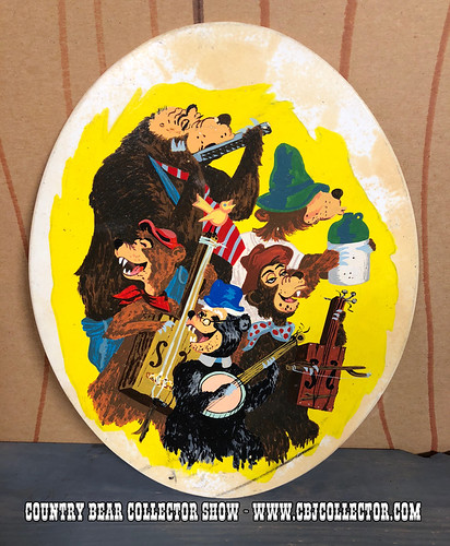 Piece of Disneyland's Country Bear Playhouse - Country Bear Collector Show #117