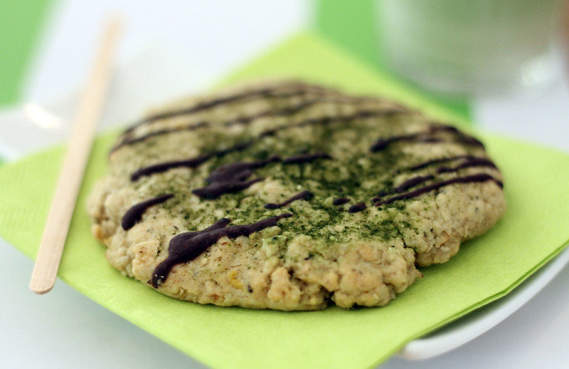 Matcha Cookie with choc