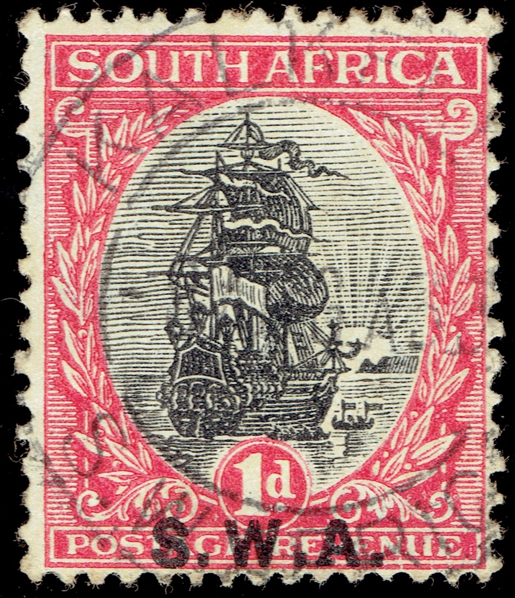 South West Africa #97 (1927)